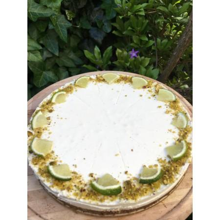 RAW limetkový dort